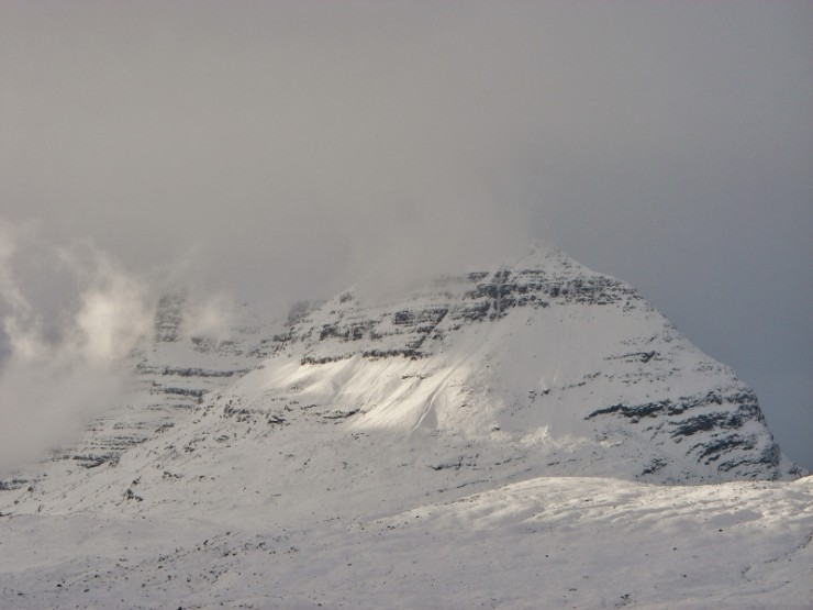 Liathach from The Glen.
