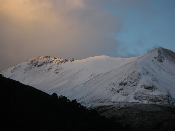 The East side of Beinn Eighe looking a lot whiter.