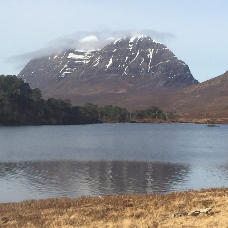 Liathach from Coulin Estate
