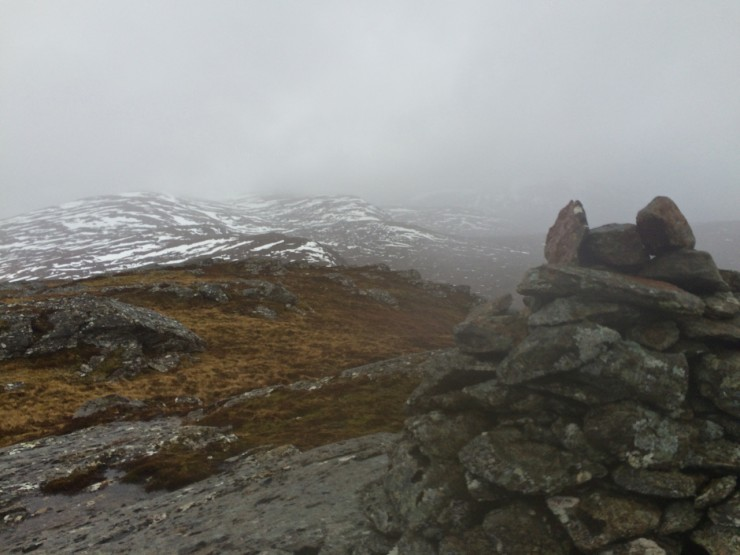 "Fannichs - Creag Rainaich slopes from Meall a t""Sithe"