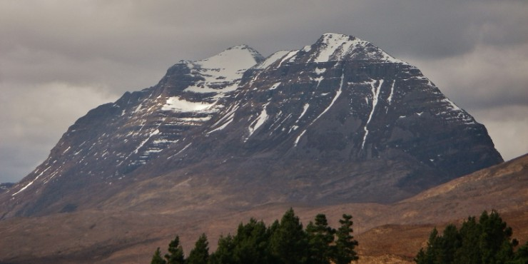 Wouldn't it be great to be up on Liathach ridge today?