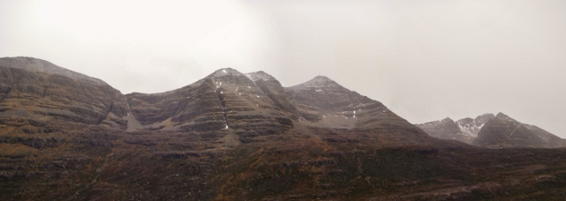 Northern corries of Liathach.
