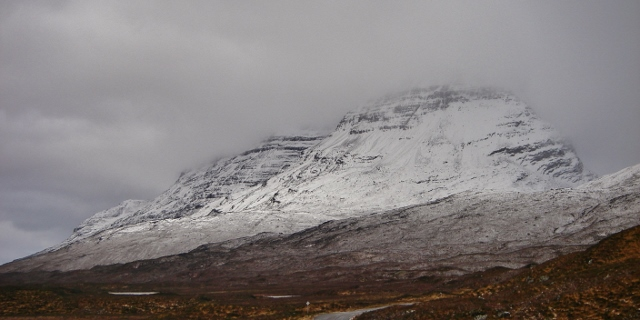 Liathach. Rocks and buttresses very evident.