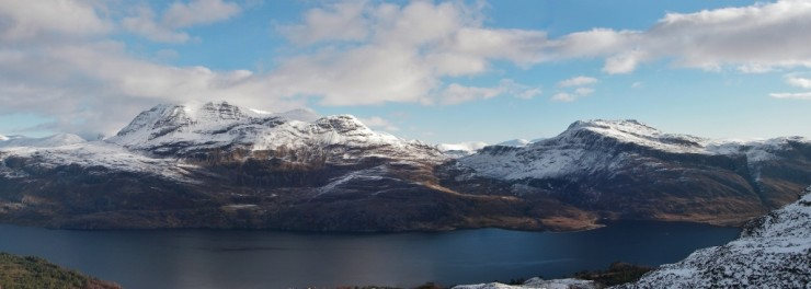 Loch Maree and Slioch.