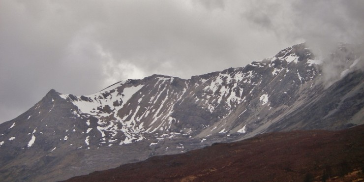 Coire an Laoigh, beinn Eighe - the site for the snow profile.