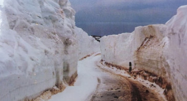 Bealach na Ba in  2014 and looking back to 1990