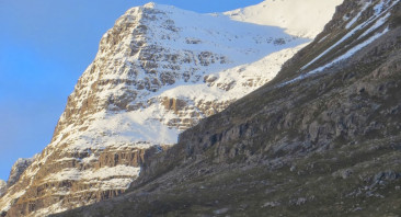New Year's Day on Liathach