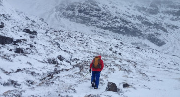 Torridon – First Blog entry – Strong Winds