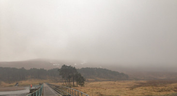 Hill Fog and Drizzle