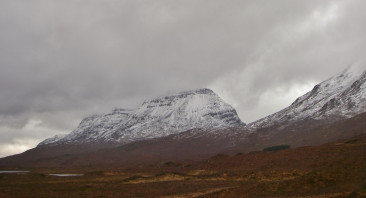 A monochrome day in Torridon