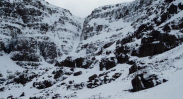 Overcast, Cloudy and Cold in Torridon