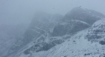 Gales, rain and hill snow.